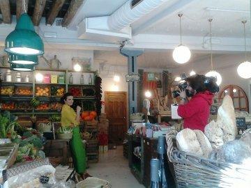 Silvia Abril en Kiki Market.